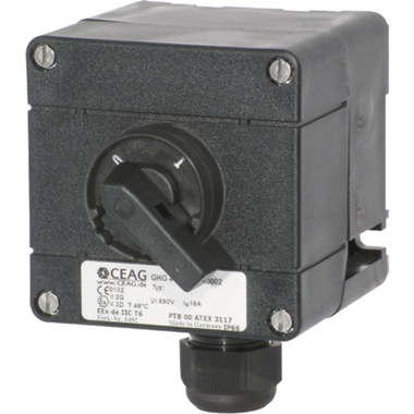 GHG411 / Control switch with two contactors