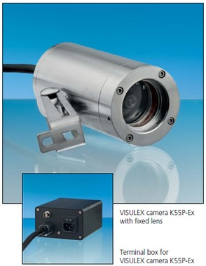 K55-P-Ex VISULEX Process camera SSt, fixed lens